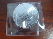 ROYAL CANADIAN MINT Silver Coin MAPLE LEAF 2014